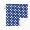 "Blue Dot Mini Baby Blanket (12"" x 12"")"
