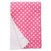 "Pink Dot XL Baby Blanket (42"" x 32"")"