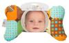 Organic Blue Little Ones Baby Head Pillow