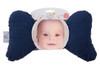 Navy Minky Baby Pillow