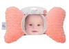 Coral Minky Baby Pillow