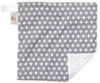 "Grey Cross Mini Baby Blanket (12"" x 12"")"