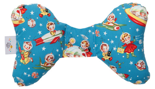 Retro Rockets Head Support Pillow