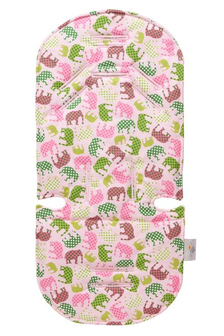 Pink Elephant Stroller Liner Stroller Accessories