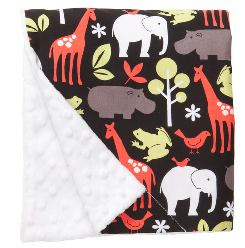 "Zoology Large Baby Blanket (27"" x 29"")"