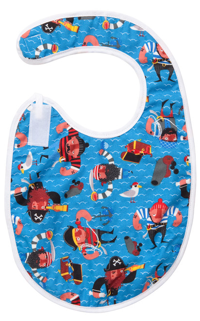 Baby Red Beard Bib Baby Elephant Ears
