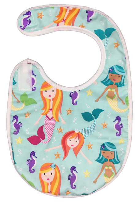 Mermaid Bib Baby Elephant Ears