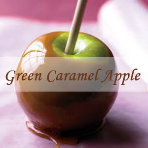 Green Caramel Apple