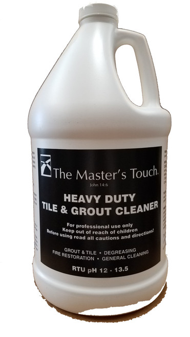 TFC The Masters Touch Heavy Duty Tile and Grout Cleaner pH 12-13.5 - Gallon (TMT)