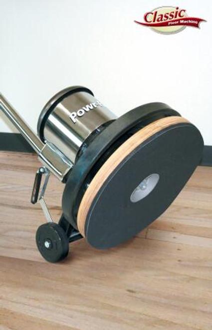 "Classic Series Sanding Floor Machine 17"" 1.5 hp, Classic Metal Floor Machine with Sandpaper Driver"