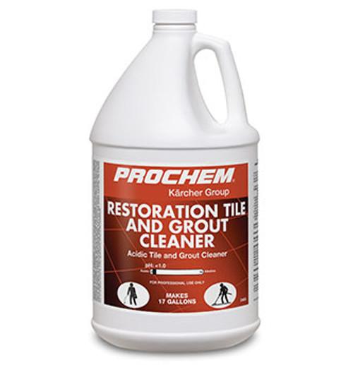 Prochem Restoration Acid Tile and Grout Cleaner  - pH <1  D405