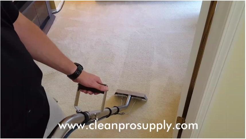 Carpet Wanding Technique