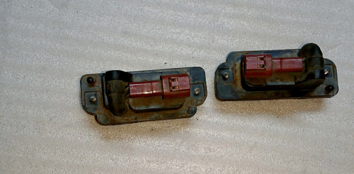 R32 Rear Plate Lamp Set