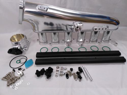 2JZ-GTE Dual Fuel Rail  Aluminum Intake Manifold
