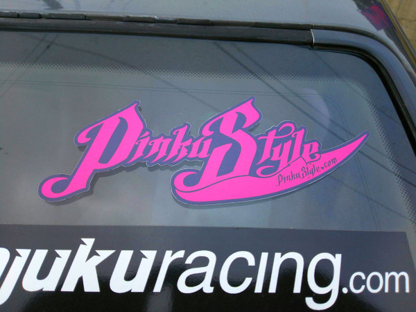 Pinku Style Sticker