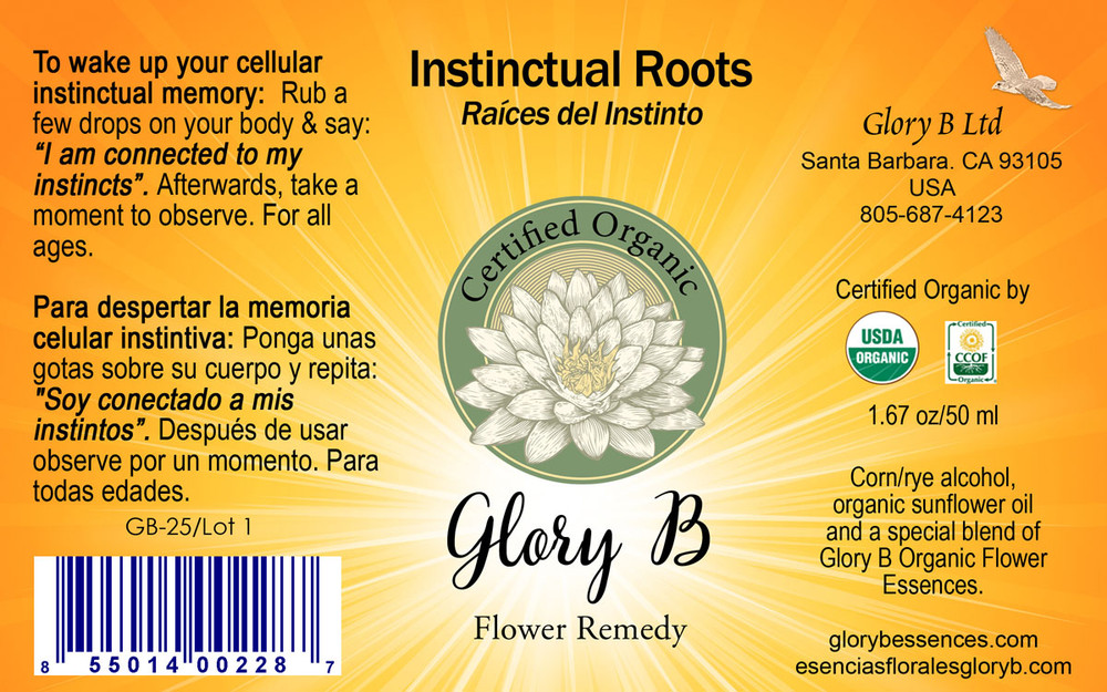 INSTINCTUAL ROOTS gives a sense of complete calm and clarity