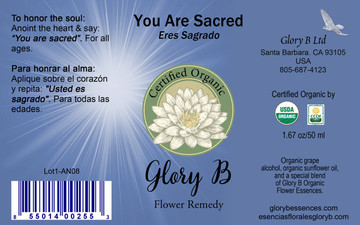 YOU ARE SACRED Flower Essence