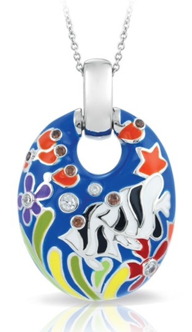 Angelfish Blue Pendant