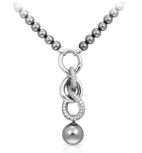Belle etoile infinity necklace august stephenson jewelry store belle etoile infinity necklace aloadofball Choice Image