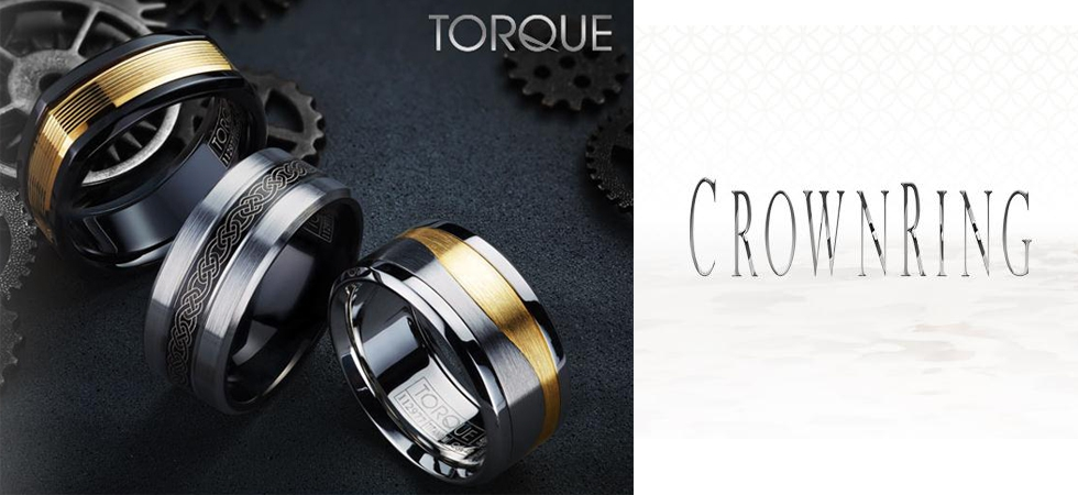 Torque Innovative Metal Wedding Rings
