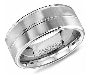 CB1010 Torque Cobalt Wedding Ring August Stephenson Jewelry Store