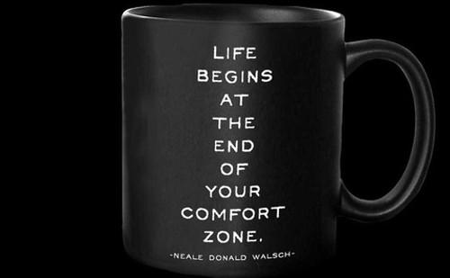 Mug- Life begins at...