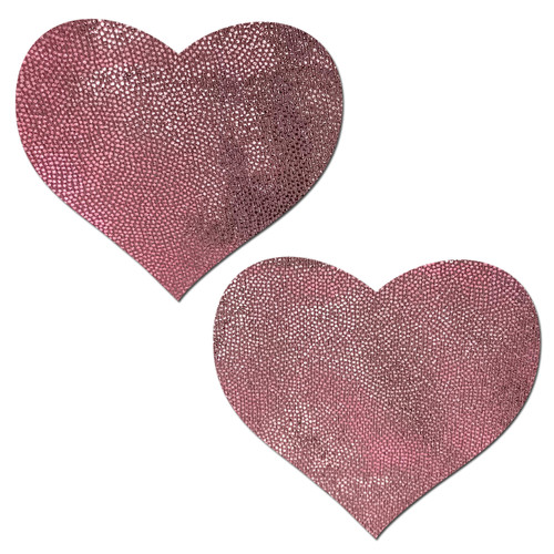 Bubblegum Pink Heart Nipple Pasties by Pastease® o/s