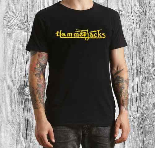 Vintage Distressed T-shirt in Black