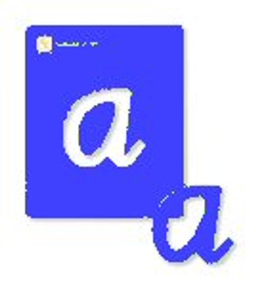 Alphabet Stencils Lower Case