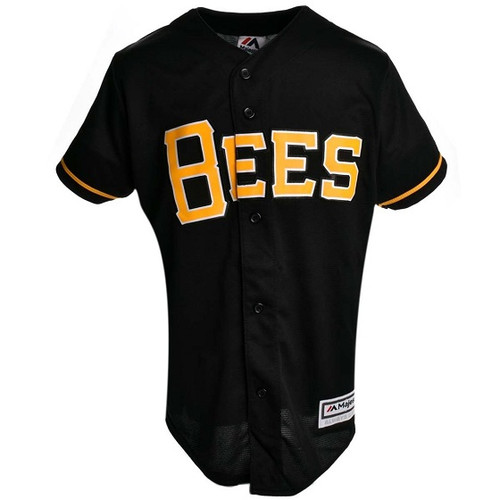 Alt Replica Jersey  - KidsApparelJerseysYouth - Salt Lake Bees - - Black - Outerstuff