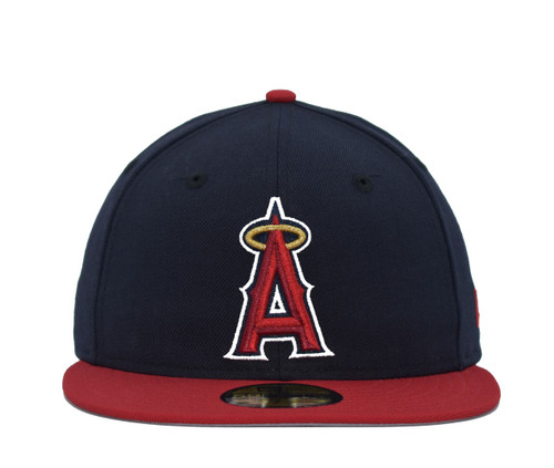 2T Basic 5950  - HeadwearFittedMens - Los Angeles Angels - - Navy - New Era