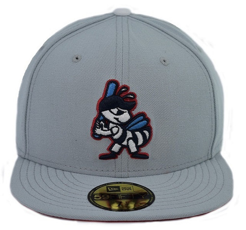 Abe Ortiz 5950 - HeadwearFittedMens - Salt Lake Bees -  - Gray - Vendor Name