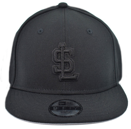 Yth WOB 950 - HeadwearAdjustableSnapbackYouth - Salt Lake Bees -  - black - Vendor Name