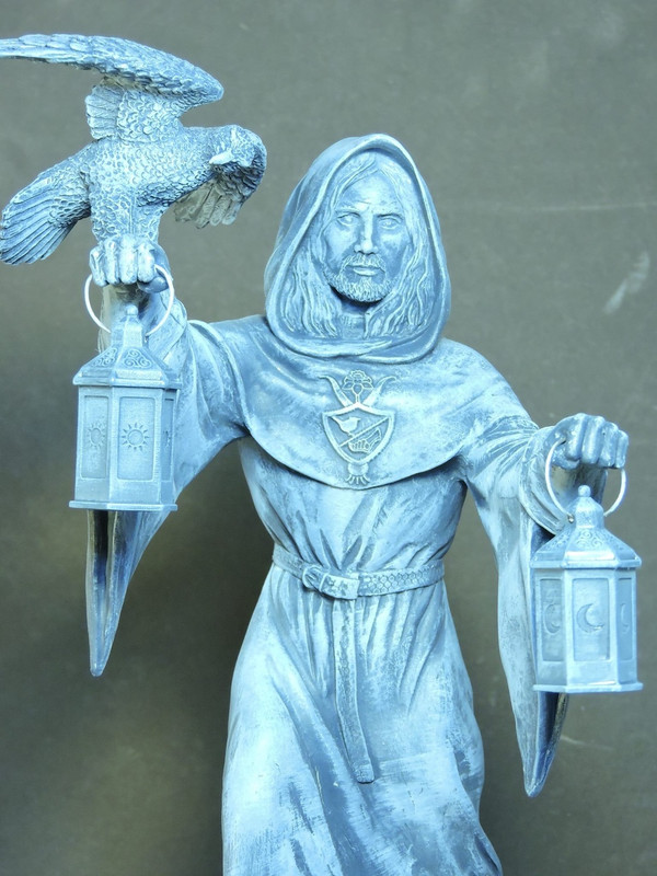 Lleu - Handcast Statue