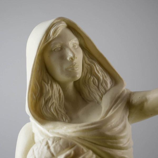 Hestia - Hand cast statue