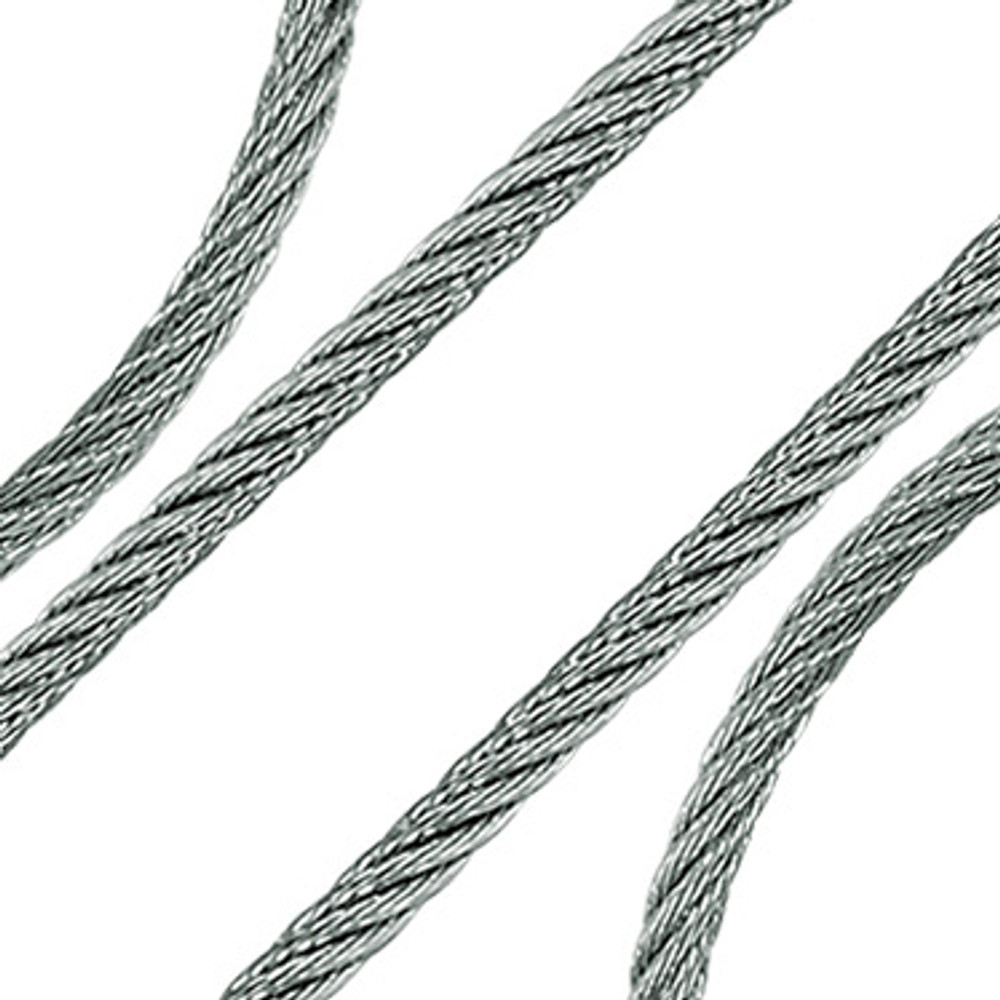 Ronstan 7x7 Wire Rope 316 Stainless Steel, 305m (WR677-03M to WR677-04M)
