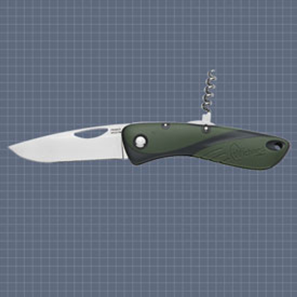 Wichard Aquaterra Fishing & Hunting Knife - Plain Blade, Corkscrew (with corkscrew up)