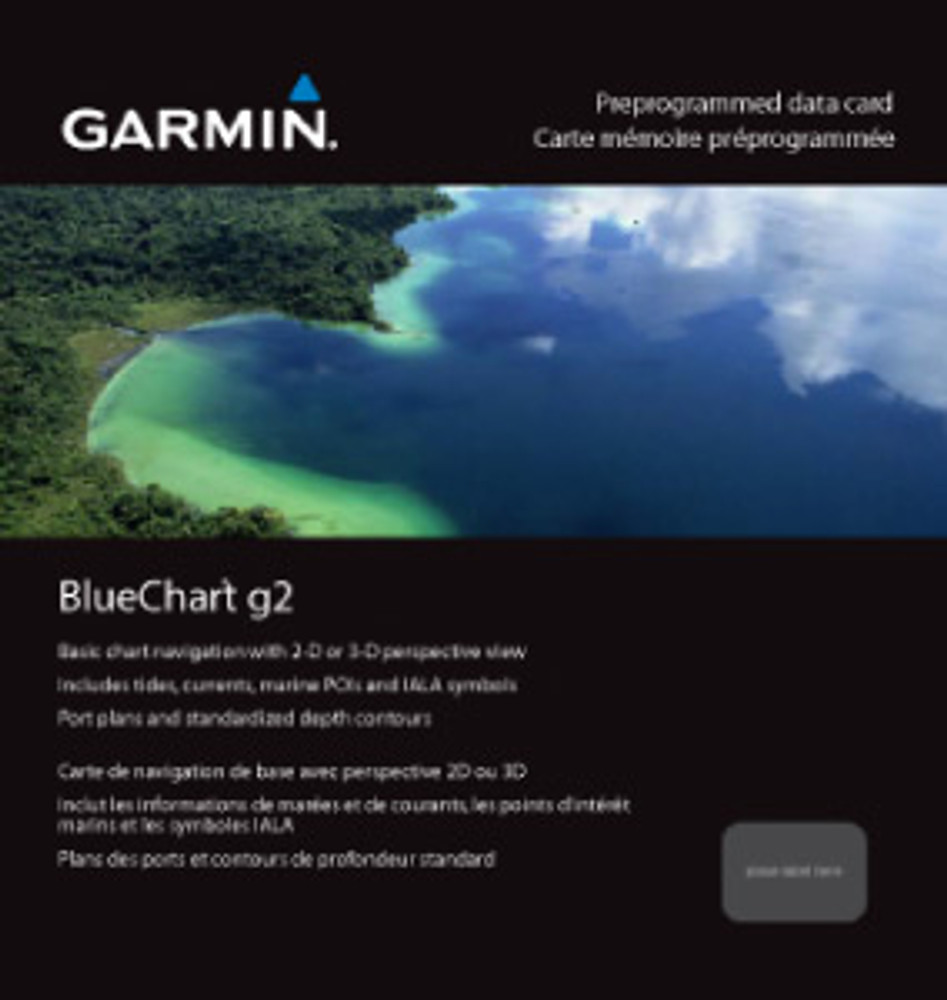 Garmin BlueChart g2 Micro SD with SD Card Adaptor HAE004R Hong Kong/South China Sea