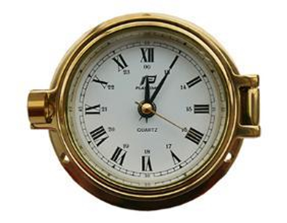 "Plastimo 3"" Clock Hinged"