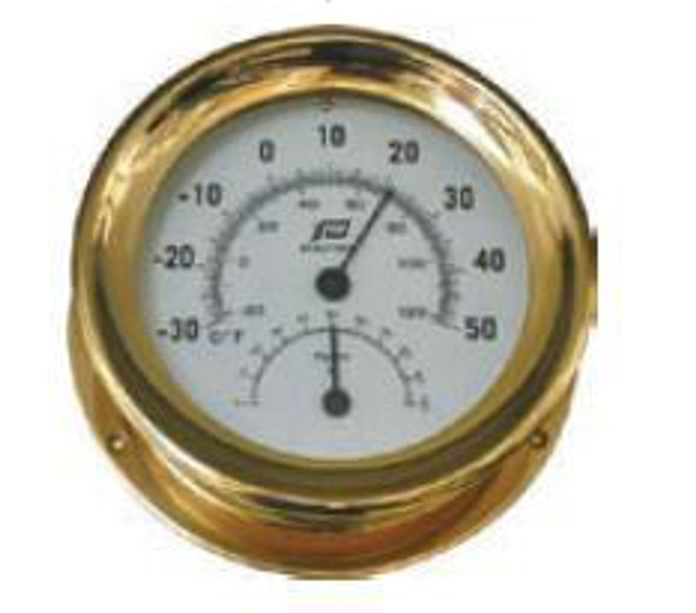 5 inch thermometer-hygrometer sealed