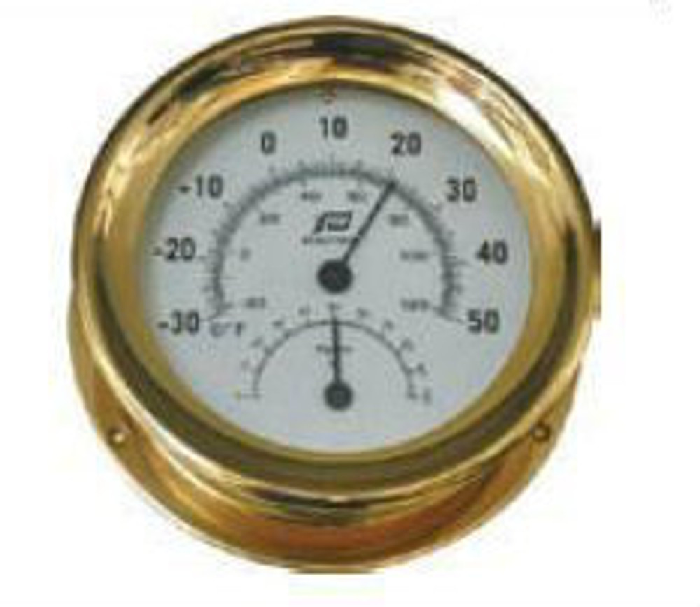 5 inch thermometer-hygrometer