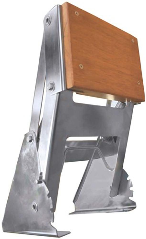Tenob Outboard Motor Bracket Stainless Steel - Horizontal Mount Adjustable (RWB279)