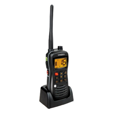 Uniden MHS127 Submersible / Waterproof* 5W VHF Marine Radio that Floats