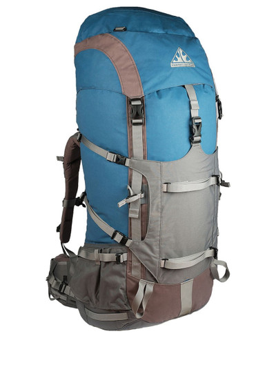 Wilderness Equipment Lost World Backpack - Ocean/Grey