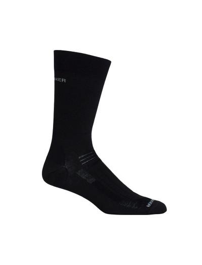 Icebreaker Hike Liner Crew Socks - Men