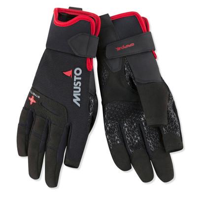 Musto Performance Gloves Long Finger - Black
