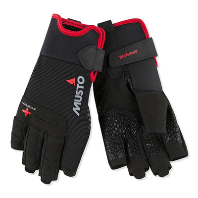 Musto Performance Gloves Short Finger - Black