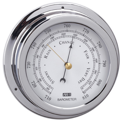 RWB Barometer Chrome 120mm (RWB4556)