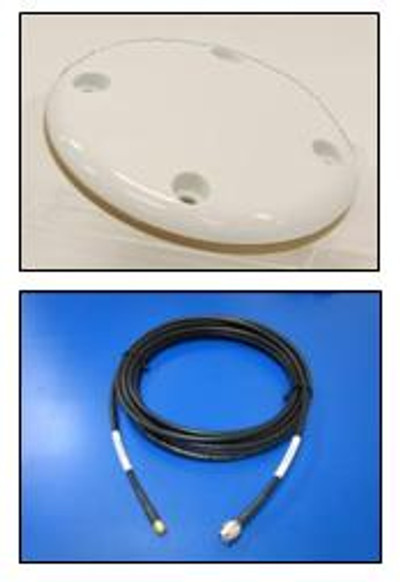 Iridium Antenna - Large patch with base connector (including 6m cable)