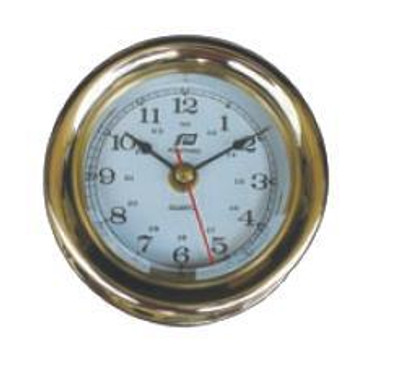 "Plastimo 5"" Clock Porthole RN/Arabic"